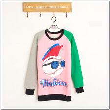 ❤Mochican Baseball Sweatshirt❤Japan Japanese Korean Fashion blouse longsleeve S
