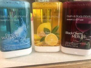 Bath & Body Works - Kitchen Lemon, Black Cherry, Dancing Waters Smart Soap NEW
