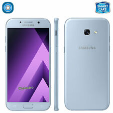"SAMSUNG Galaxy A5 2017 SM-A520W GSM Unlocked 5.2"" 32GB Single Sim, Blue Mist"