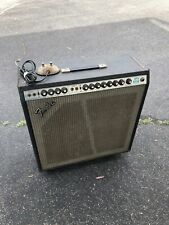 Vintage Fender Super Reverb 70s Silverface pre-owned tube combo amp w/footswitch