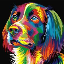 SPANIEL DOG MOSAIC DIAMOND PAINTING KIT PAINT BY NUMBERS KIT 5D CROSS STITCH