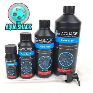 Aquadip Plant Food + Plus Fertiliser Planted Aquarium Treatment Profito Fish
