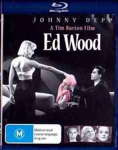 ED WOOD New Blu-Ray JOHNNY DEPP ***