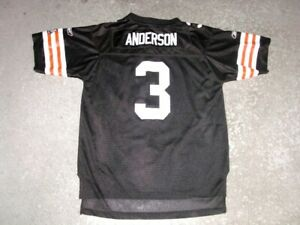 Cleveland Browns DEREK ANDERSON football jersey youth XL