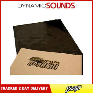 "Stinger Stealth Roadkill Sound Deadening Proofing Sheet Dynamat 18x32"""