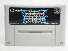 Super Famicom DEAD DANCE Tuff E Nuff Video Game Cartridge Only sfc