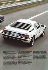 BMW 7 7er E23 728i 732i 735i 745i M1 Sportwagen Prospekt Brochure 1980 10