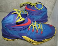 Nike Lebron Soldier VIII Size 6.5Y Youth Basketball Shoes 653645 400 Blue Purple