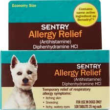 SENTRY Allergy Relief Tabs for Dogs 100 count