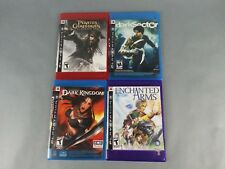 Lot of 4 PS3 Games Enchanted Arms Dark Sector Dark Kingdom Pirates of Carribean