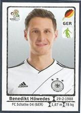 PANINI EURO 2012- #236-DEUTSCHLAND-GERMANY-FC SHALKE04-BENEDIKT HOWEDES