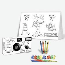 Color-My-Cam, Wedding Favor for kids, child camera, kids favor
