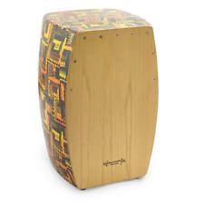 World Rhythm Caj3 Cajon With Natural Wood Finish Playing Surface
