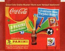 Panini: WC 2010 - Tüte, Packet,  Bustina, Pochette,  Coca Cola - Klose-Salto !!!