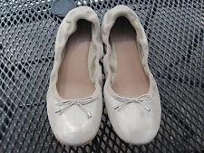 Marc O`Polo Leder Ballerina Schuhe beige Gr. 5 1/2 37,5 Top Zustand