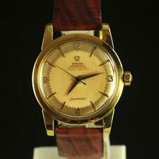 Omega Seamaster Automatic Chronometer Ref 2520 2577 Cal 352 18K Watch 1950s