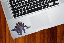 "CLR:TP - Cosmic Stegosaurus - Dinosaur Vinyl Trackpad Decal ©YYDC (3.5""w x 2.5"")"