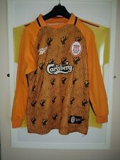 Vintage liverpool football goal keepers shirt not candy or crown paints