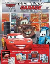 Cars 2 Grand Prix Garage (STORYBOOK AND PLAYSET) - New - Disney•Pixar