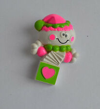 Vintage Avon NY 1976 Fragrance Glace Plastic Clown Toy brooch pin solid perfume