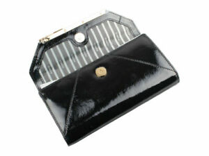 Mimco Origami XL Black Large Wallet - 26 Card Slots RRP $249 BNWT