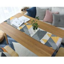 Waterproof Table Runner Table Cloth Cover Party Geometric Kitchen Home Decor