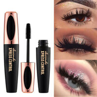 Black eyelash women big eyes silk fiber eyelash 4D mascara makeup extension Fy