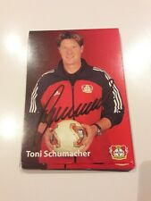 Signierte AK Toni Schumacher Bayer Leverkusen  NEU