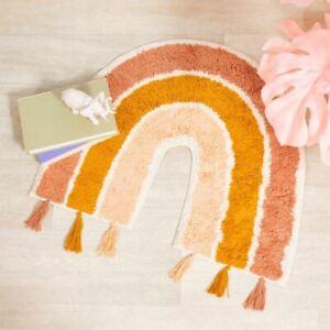 Earth Rainbow Kids Bedroom Rug   Nursery Playroom Animal Home Decoration Gift