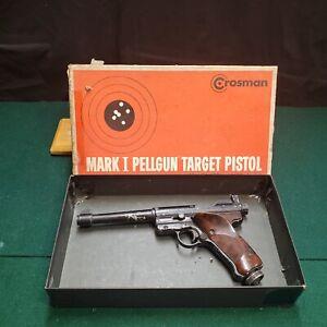 Vintage Crosman MK1 Mark 1 Co2 Pellet Gun/pistol Adjustable Trigger & Power