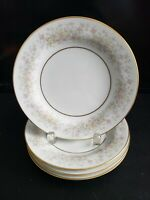 "LIZBETH BY NITTO P4623 4 BREAD & BUTTER PLATES 6 3/8""  CRAFTED IN PHILIPPINES"