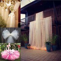 """54""""x40yards Tulle Roll Bolt Fabric Bridal Tutu Dress DIY Wedding Party Decor"""