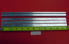 "8 Pieces 1/8"" X 1/2"" ALUMINUM 6061 T6511 FLAT BAR 12"" long .125"" New Mill Stock"