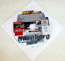 Sur CD Märklin Roco Fleischmann Tillig Trix Faller Catalogue des Nouveautés 2014