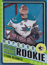 12-13 OPC Tyson Sexsmith /100 Marquee Rookie Rainbow Black 2012 O-PEE-CHEE 589