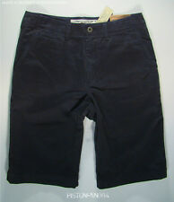 American Eagle Mens Navy Blue Flat Front Long Shorts 31 NWT