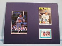 Milwaukee Brewer Great & Hall of Famer Robin Yount honored by his own stamp