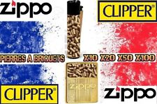 Pierres à Briquet Flints for Lighter SILEX Doré Noir Clipper Zippo 2.2MMX5MM