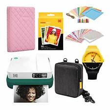 KODAK Smile Classic Digital Instant Camera with Bluetooth (Green) Scrapbook Phot