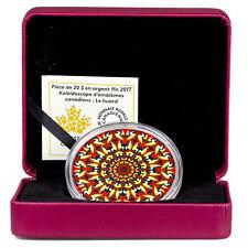 2017 Canada Canadiana Kaleidoscope Loon 1 oz Silver Colorized Proof $20 SKU45914