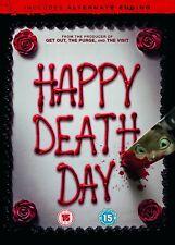 Happy Death Day DVD Universal Studios 2017 Region 2 and 4
