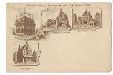 Netherlands (Holland):  Souvenir Wereld Tentoonstelling Amsterdam 1895