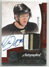 10-11 Nick Johnson The Cup Auto Rookie Card RC #135 Sweet Jersey Patch 032/249