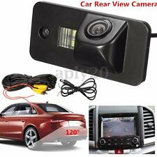 HD Waterproof Reversing Rear View License Camera FIT Audi A3 A4 A5 A6 A8 Q7 RS4