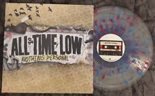 All Time Low NOTHING PERSONAL LP Clear w/ Blue & Pink Splatter Limited Pressing