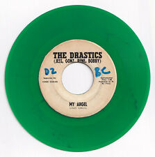 Philippines THE DRASTICS My Angel 45 rpm GREEN VINYL Record