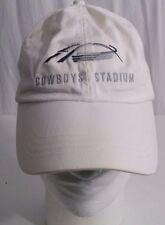 DALLAS COWBOYS STADIUM Jerry World White Baseball Cap Hat Adjustable Strap