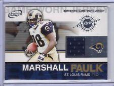 2002 Pacific Atomic Jersey #79 Marshall Faulk - Rams