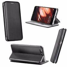 * Book Forcell Elegance Case Handytasche Cover Tasche Etui Schwarz LG G6 H870