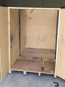 Storage box Timber 2450 x 1400 x 1800mm high